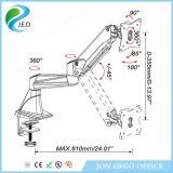 Jeo doppelter Grad Joint360, der 180 Schreibtisch-Schelle-Monitor-Aufbruch der Grad-Schwenker-Fabrik-Preis-Höhen-justierbaren Ys-Ga12fu dreht
