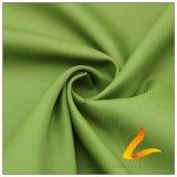 agua de 50d 290t y de la ropa de deportes tela cruzada tejida chaqueta al aire libre Viento-Resistente abajo y tela sucia 100% de la pongis del poliester del telar jacquar de la tela escocesa (53187B)