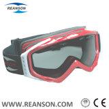 ガラスAnti-Fog紫外線保護スキーゴーグルに