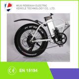 كبيرة قوة عال سرعة سمين إطار العجلة 4.0 ثلج شاطئ درّاجة كهربائيّة [فولدبل]