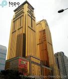 황금 벽 유리 (C-Y)를 위한 수정같은 노란 부유물 평면 유리