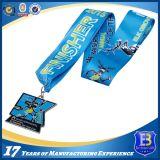 亜鉛合金は印刷されたリボンが付いている栓抜きメダルを遊ばす