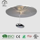 프로젝트를 위한 2017년 LED 현대 금속 램프 물방울 천장 빛