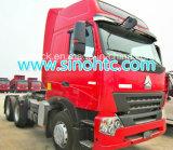 Acoplado de alimentador resistente de Sinotruk 3-Axle 371HP