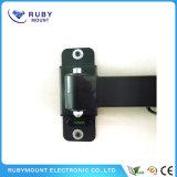 LCDサポート表示デスクトップのハングラックユニバーサル回転式台紙