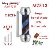 Fabrik-Zubehör-Herrenfriseur-Pole-Beleuchtung für Herrenfriseur-System