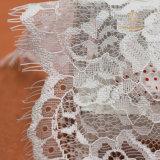 Tela francesa africana del cordón de la pestaña de la boda de la alta calidad