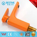 Grifo de cobre amarillo del lavabo del color anaranjado popular (BM-B10030F)