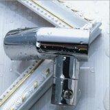 Соединение штуцеров трубы штуцеров оборудования отливки нержавеющей стали двери комнаты ливня стеклянное
