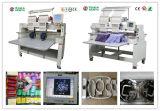 Machine industrielle de broderie de 2 têtes, machine de broderie de chapeau, T-shirt et prix plat de la Chine de modèles de Tajima de machine de broderie