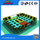 China Supplier Trampoline Commercial Plastic Tubes Playground Trampoline Park Bungee Jump Trampoline