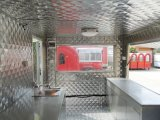 Uso da máquina da cozinha, 1360 quilogramas de projeto móvel do reboque do carro do alimento