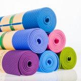 China TPE-Yoga-Matten-Zoll-Großverkauf 100%