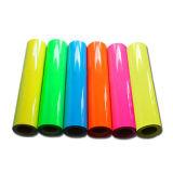 Vinile flessibile dentellare al neon di scambio di calore per vestiti
