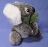 코알라 동물성 견면 벨벳에 의하여 채워지는 장난감