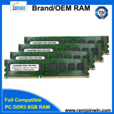 Ett откалывает Non RAM 8GB DDR3 Ecc 1600MHz 8bits Memoria