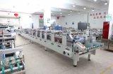 Máquina de la fabricación de cajas del conjunto de las bragas del ahorro de trabajo