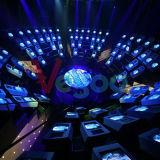 Pantalla de visualización a todo color de interior de LED del efecto perfecto de la visión P3