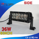 luz ATV Offroad do trabalho do diodo emissor de luz de 36W 8inch