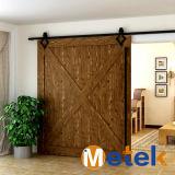Alta calidad china Producción de puertas corredizas para proyectar utilizadas kits de accesorios puertas de granero