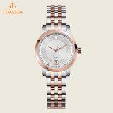 女性腕時計のローズのゴールド・トーンの水晶腕時計71173