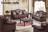 Insieme antico del sofà del tessuto