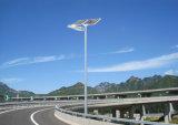 Luz de rua solar do diodo emissor de luz do poder superior para o projeto do governo
