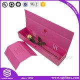 Коробка подарка прямоугольника конфеты бумажного цветка роскоши упаковывая