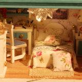 Casa de boneca do enigma de DIY 3D para miúdos