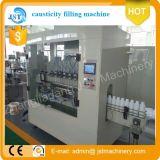 Máquina de rellenar detergente automática llena