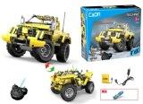 Kids Toys R / C Block Truck com USB P. Bx
