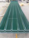 Mattonelle di tetto della resina del PVC del materiale da costruzione di resistenza della corrosione