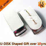 Hot Promotion Gift Leather USB Flash Drive (YT-5116)