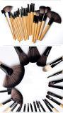 Щетки состава PCS синтетического Nylon профессионала 24 инструментов состава установленные косметические