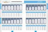 bouteille droite d'empaquetage en plastique de tube du HDPE 200ml pour la médecine de soins de santé