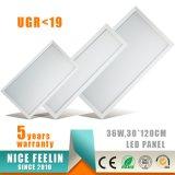 Ugr<19 1200*300mm 36W LED Panel Light voor Hospital Lighting