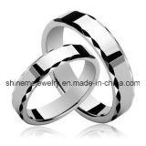 Anillo de la moda de joyería de tungsteno nuevo anillo parejas de producto