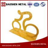Handeln Sport-Skulptur-Metallausgangsdekoration-Ideen-Laser-Ausschnitt-genau Qualität-Orientiertes direktes vom Hersteller