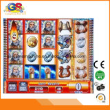 Tarjeta popular video de juego de los juegos de la máquina tragaperras del casino del Zeus