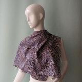8mmの絹のHabotaiの大きい正方形のスカーフ
