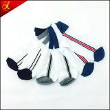 Bester Qualitätsgroßverkauf-weiße Schule-Socken