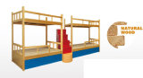 Het moderne Bed van de Slaapzaal van het Stapelbed van het Metaal van het Staal van het Meubilair Shool (hx-JY003)