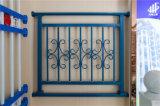 Balcón de acero galvanizado decorativo de alta calidad 31 que cercan con barandilla de la aleación de Haohan Alluminum