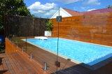 스테인리스 사각 마개 유리제 방책 수영풀 담 방책