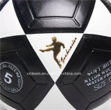قوّيّة سوداء وبيضاء [دفلتبل] جلد كرة قدم