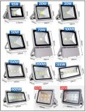 Alumium Case Glass Shade LED Cor Changing Lights para uso ao ar livre