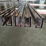 Profiel van uitstekende kwaliteit van U van het Roestvrij staal van de Kleur van de Spiegel Hairline Decoratieve