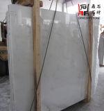 Сляб китайского нефрита Danba начала естественного каменного белый мраморный