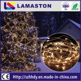 Luces de energía solar de la cadena de la decoración de interior/al aire libre LED del día de fiesta