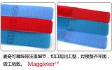 Kundenspezifische Haken-und Schleifen-Nackenband mit Halterung mit Metallfaltenbildung